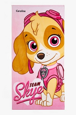 Personalised Towel - Paw Patrol Skye