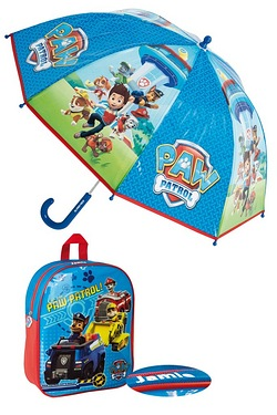 Personalised Backpack Set - Paw Patrol