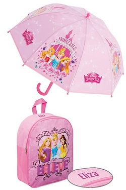 Personalised Backpack Set - Disney ...