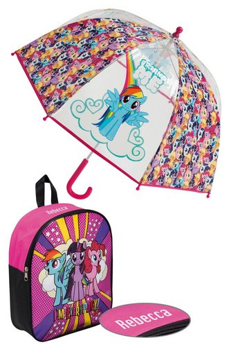 Image for Personalised Backpack Set - My Little Pony from ace