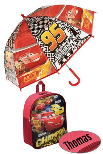 Image for Personalised Backpack Set - Cars from ace