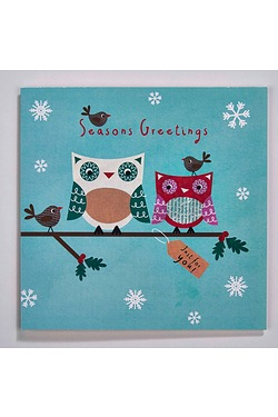 Personalised Little Owls Cards