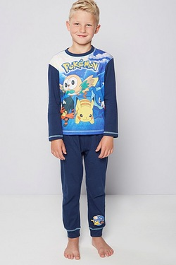 Boys Personalised Pokemon Pyjamas