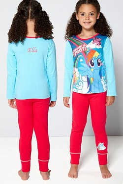 Girls Personalised My Little Pony P...
