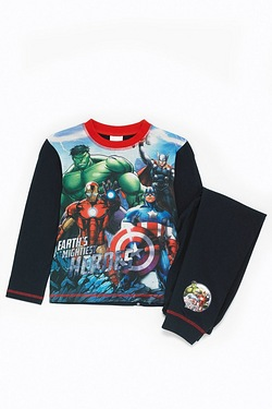 Boys Personalised Avengers Pyjamas