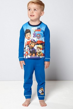 Boys Personalised Paw Patrol Pyjamas