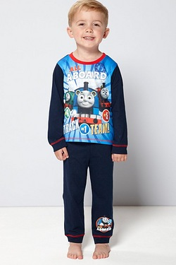 Boys Personalised Thomas Pyjamas