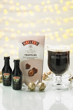 Personalised Baileys Coffee Set