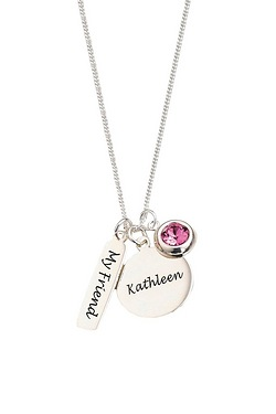 Personalised Sterling Silver 3-Piece Pendant