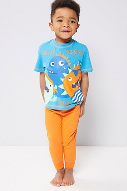 Boys Personalised Pyjamas - Cheeky Monster