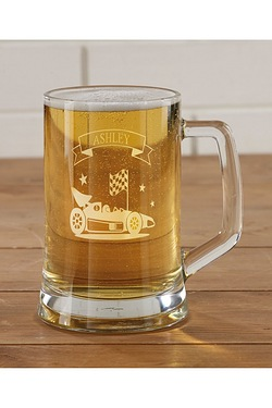 Personalised Hobby Tankard - Car Ra...