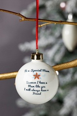 Personalised Special Bauble - Mum