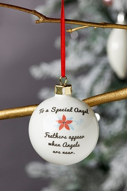 Personalised Special Bauble - Angel