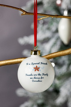 Personalised Special Bauble - Friend