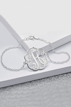 Personalised Sterling Silver 3 Lett...