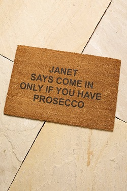 Personalised Drink Door Mat