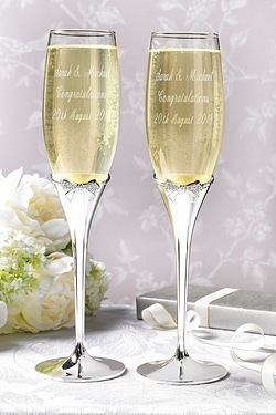 Personalised Champagne Goblets