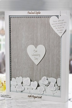 Personalised Wedding Guest Drop Box