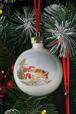 Personalised Bauble - Santa
