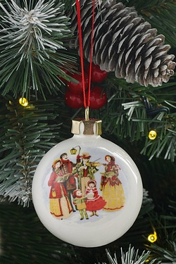 Personalised Bauble - Carol Singers