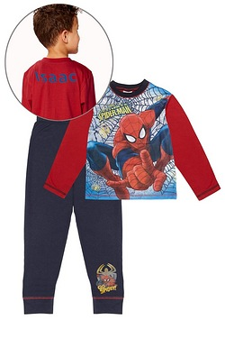 Boys Personalised Ultimate Spider-Man Pyjamas