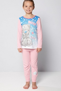Girls Tatty Teddy Dream Love Pyjamas