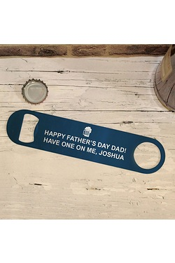 Personalised Beer Logo Bar Blade