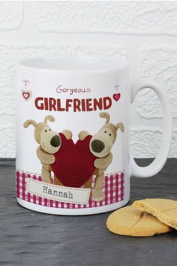 Personalised Boofle Shared Heart Mug
