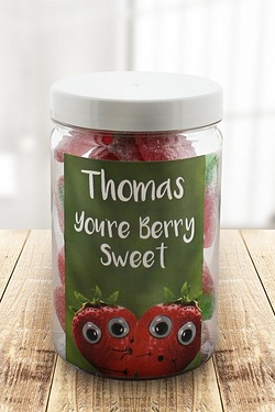 Personalised Youre Berry Sweet – Giant Strawberries