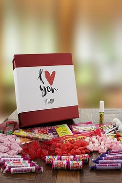 Personalised Luxury Sweet Box Heart Collection