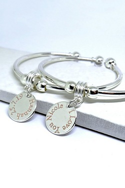 Personalised Edge Personalised Bangle