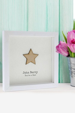 Personalised Youre A Star Framed Print