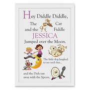 Personalised Poster - Hey Diddle Di...