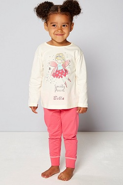 Girls Personalised Pyjamas - Fairy