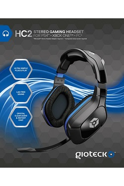 HC2 Wired Stereo Headset