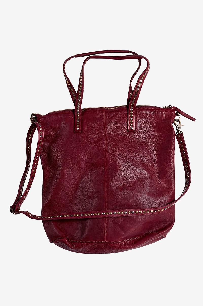 Nahkalaukku Ale : Ellos accessories dip dye nahkalaukku punainen naiset