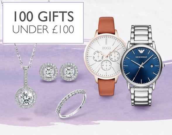 100 Gifts Under £100 at Ernest Jones