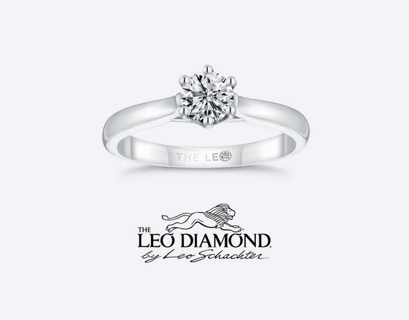 Leo Diamond Engagement Rings