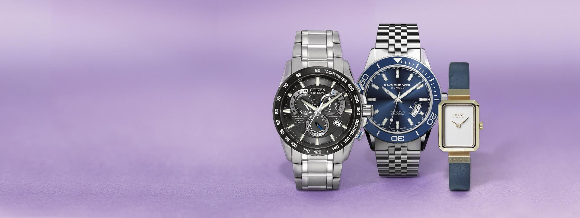 Find your favourite exclusive watch at Ernest Jones this Christmas from top brands such as TAG Heuer, Raymond Weil, Citizen, Hugo Boss and many more
