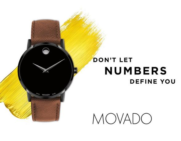 Movado watch at Ernest Jones