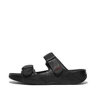 핏플랍 고흐 샌들 블랙 - FitFlop GOGHMoc Slide In Leather,Black