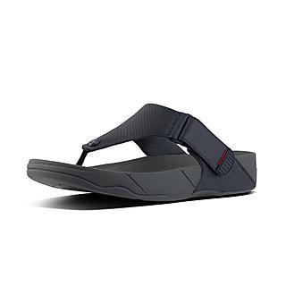 핏플랍 남성용 플립플랍 TRAKK II 네이비 - FitFlop TRAKK II Perforated Leather,Supernavy