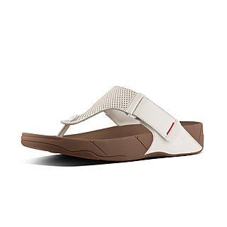 핏플랍 플립플랍 반도 화이트 - FitFlop BANDO Perforated Leather,Urban White