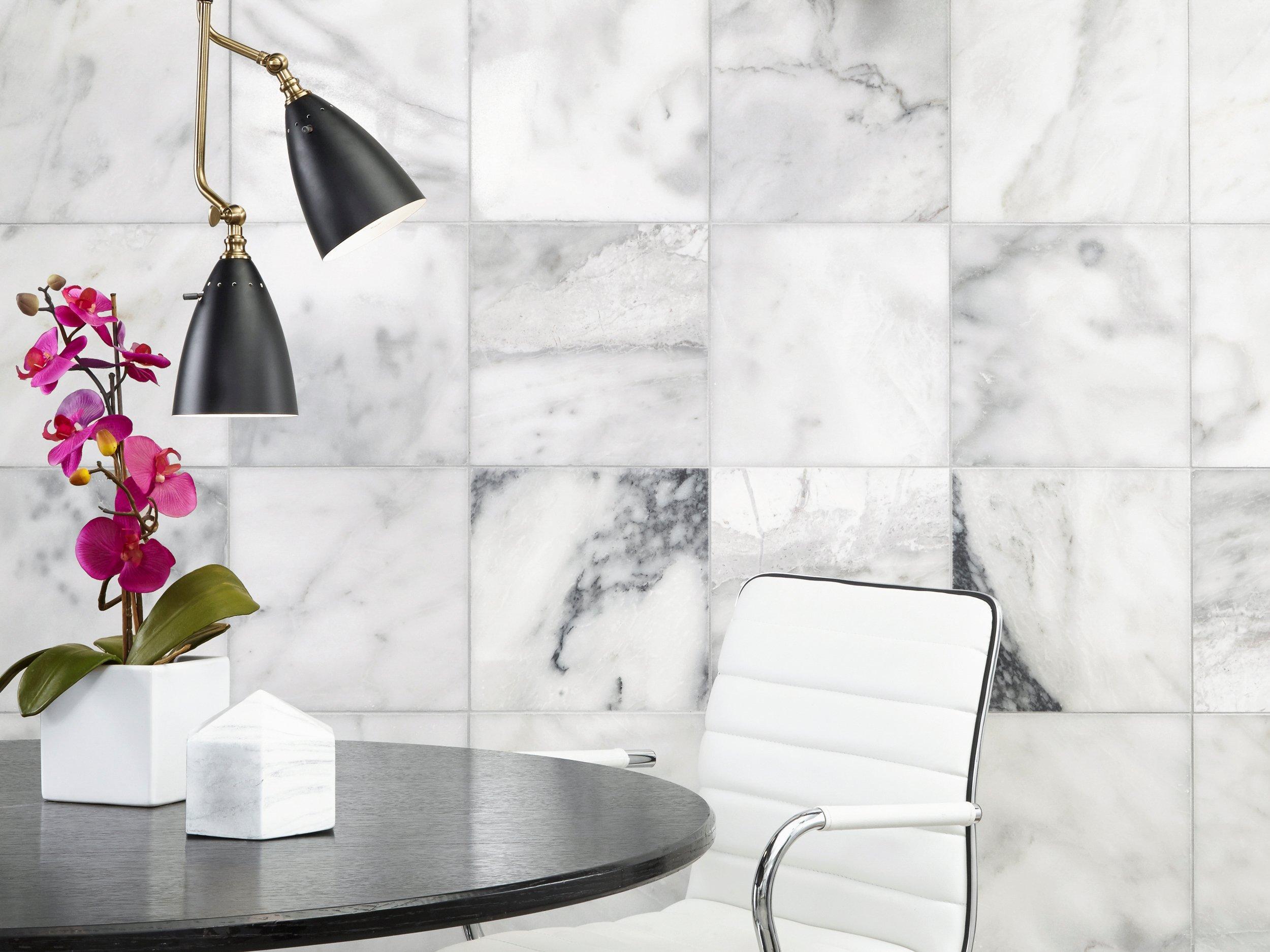 Ocean White Marble Tile 12 X 12 100139344 Floor And Decor