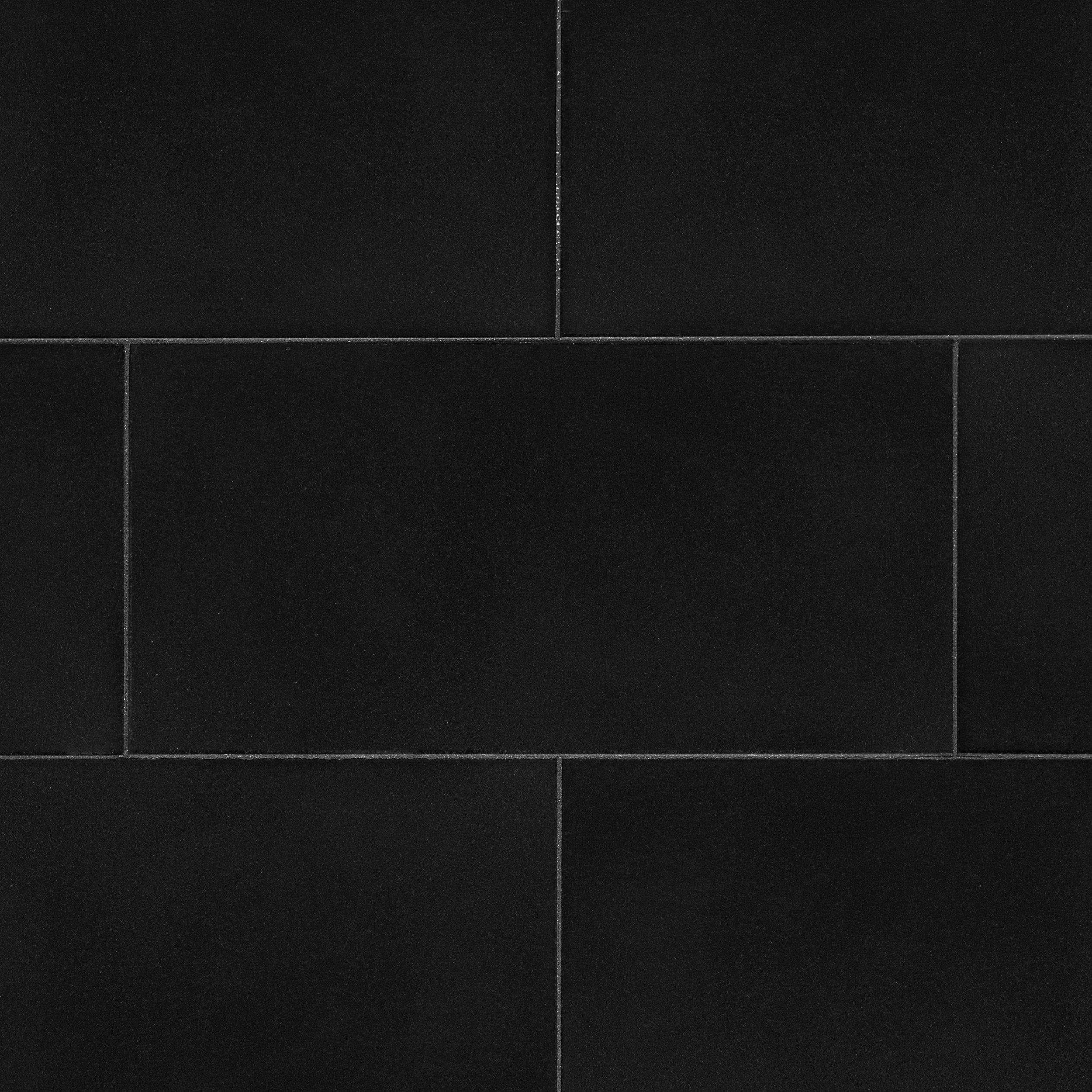 Absolute Black Honed Granite Tile 12 X 24 100195668 Floor And Decor