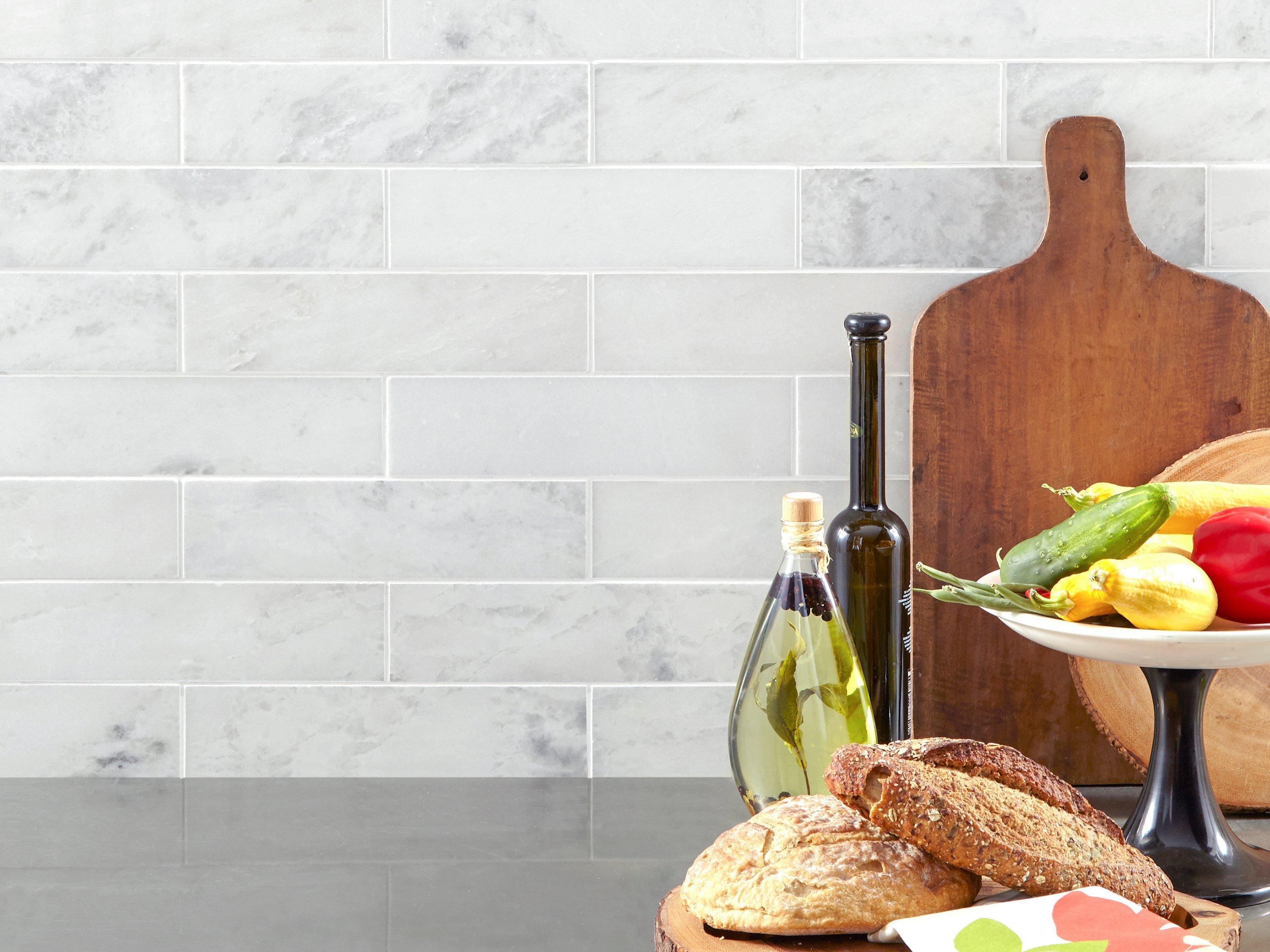 Sahara Carrara Marble Tile 3 X 12 100417815 Floor And Decor