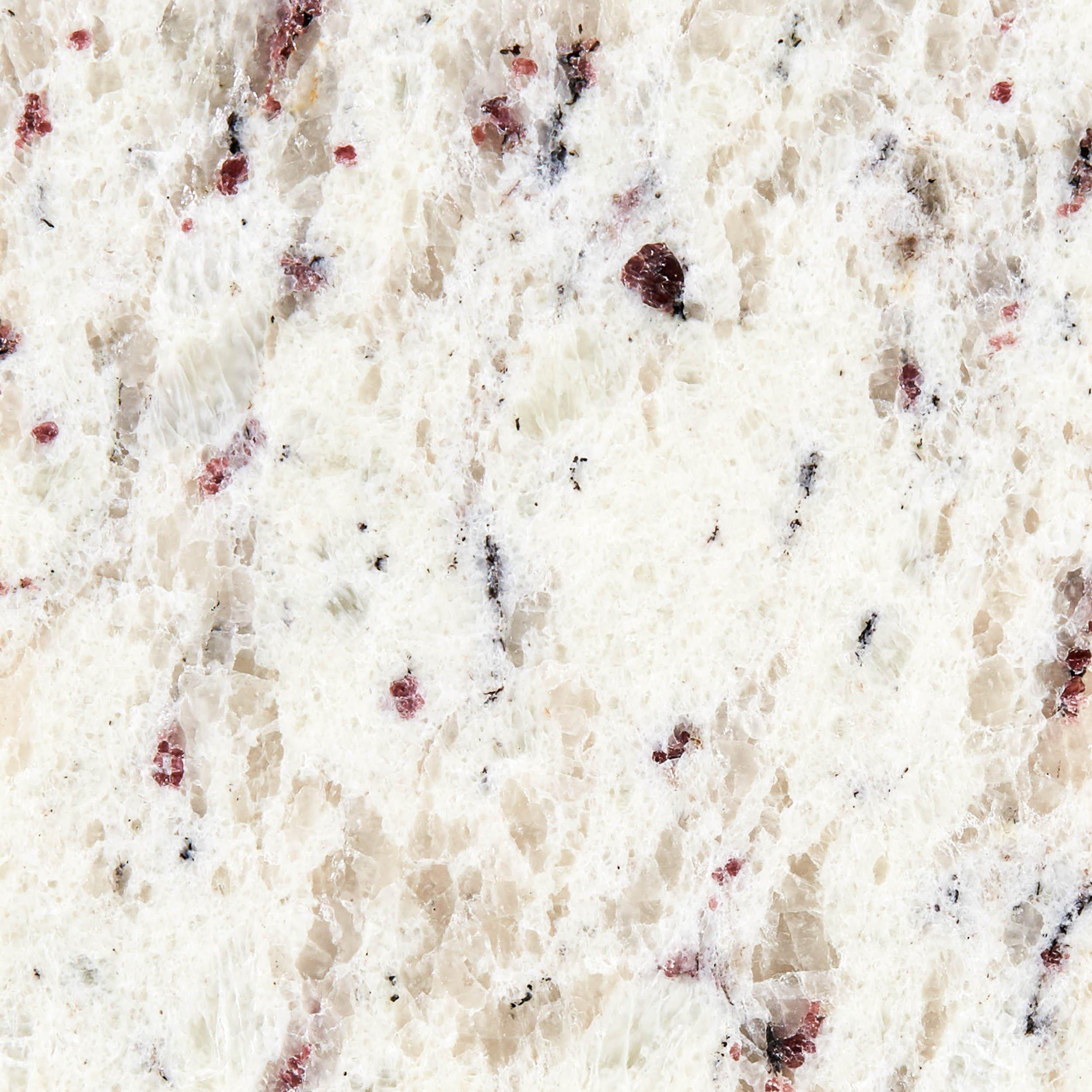 Ready To Install Ornamental White Granite Slab Includes Backsplash 112 X 26 100547330 Floor And Decor