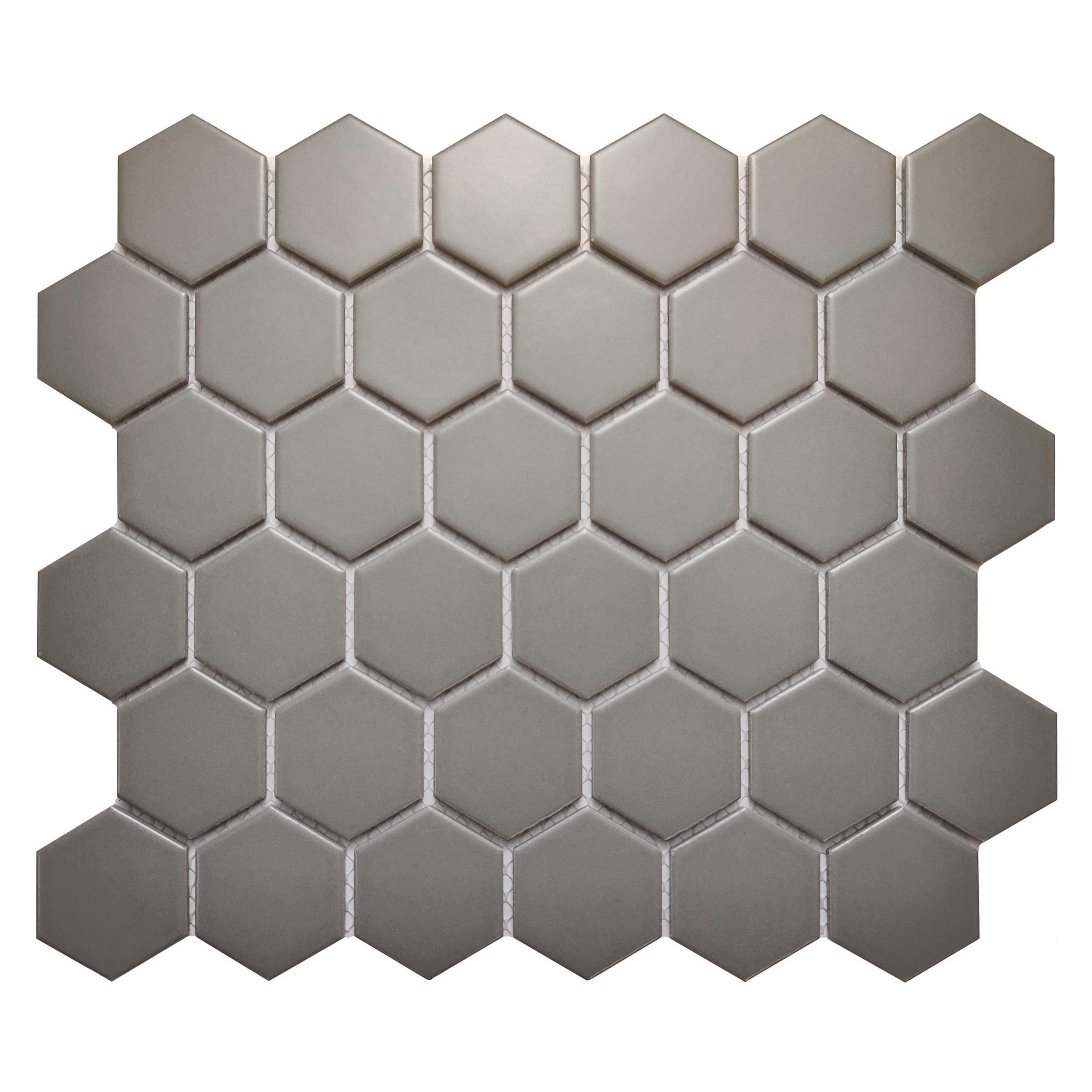 Moonstone Matte Hexagon Porcelain Tile