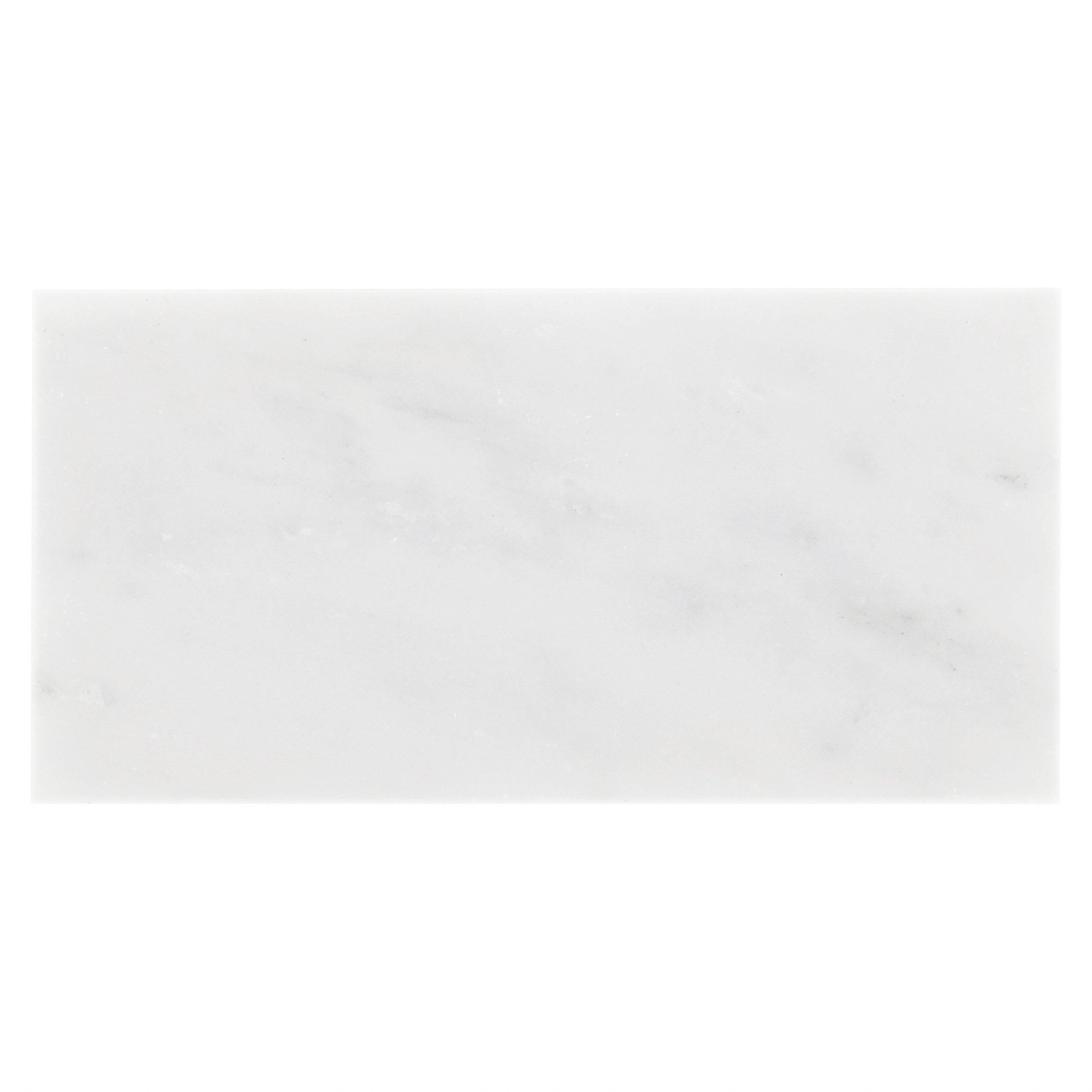 Carrara White Honed Marble Tile 3 X 6 931100279 Floor And Decor