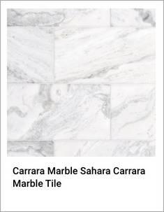 Carrara Marble Sahara Carrara Marble Tile